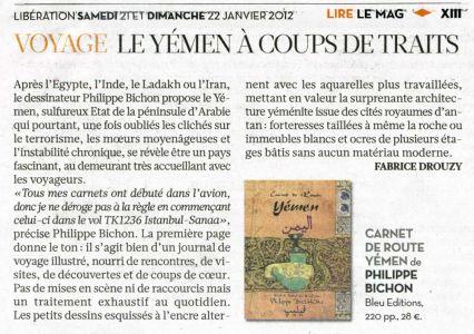 Libération Janvier 2012