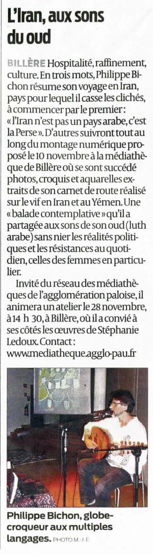 La République des Pyrénées Billère (64) Novembre 2012