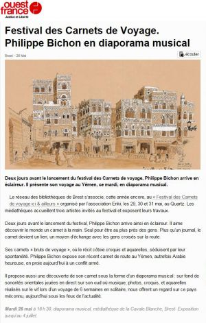 Ouest France Brest (29) Mai 2015