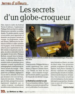 La Dépêche du Midi Cahors (46) Mai 2016