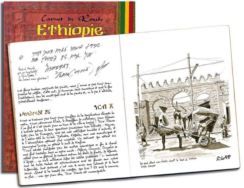 carnet Ethiopie pages
