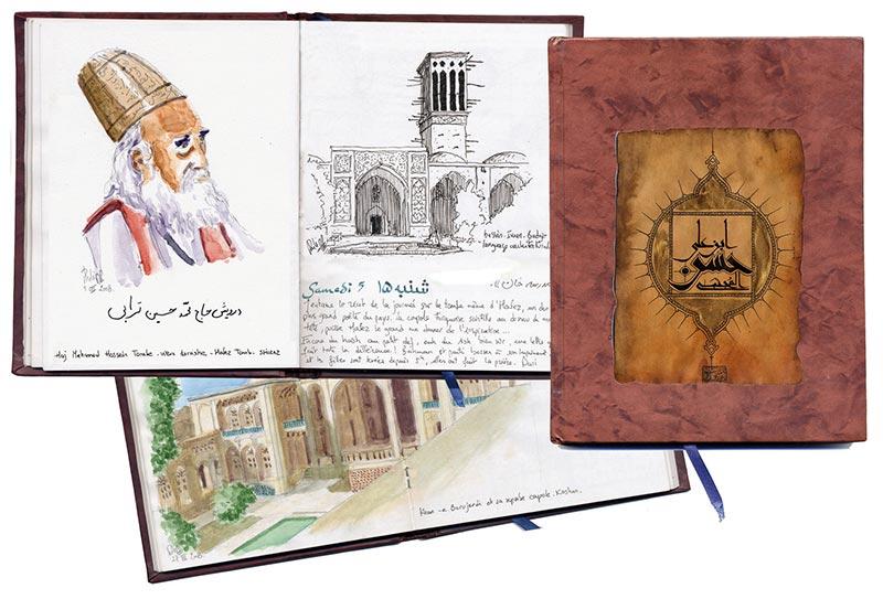 Carnets original Iran
