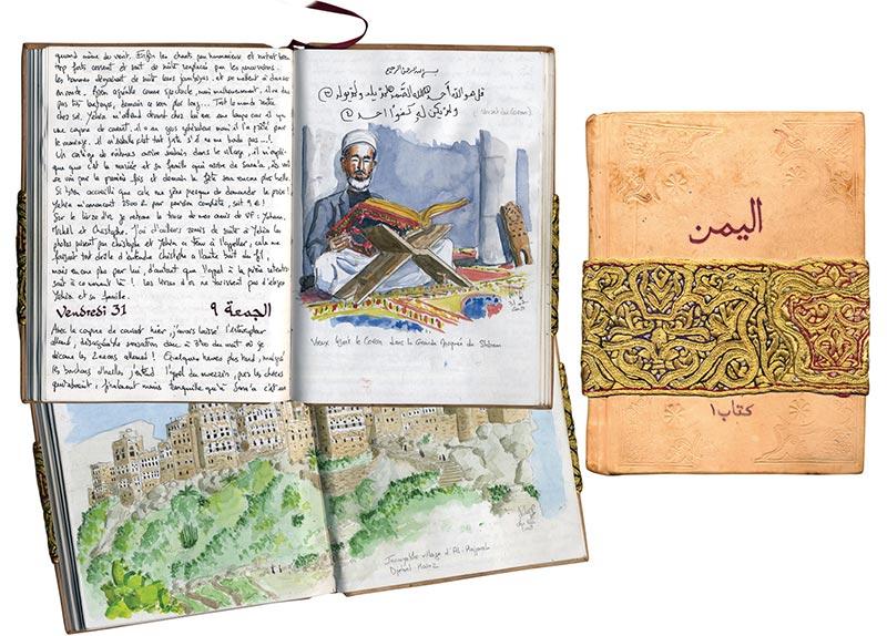 Carnet original Yémen