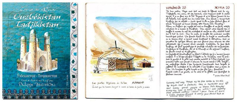 carnet Ouzbékistan Tadjikistan édité
