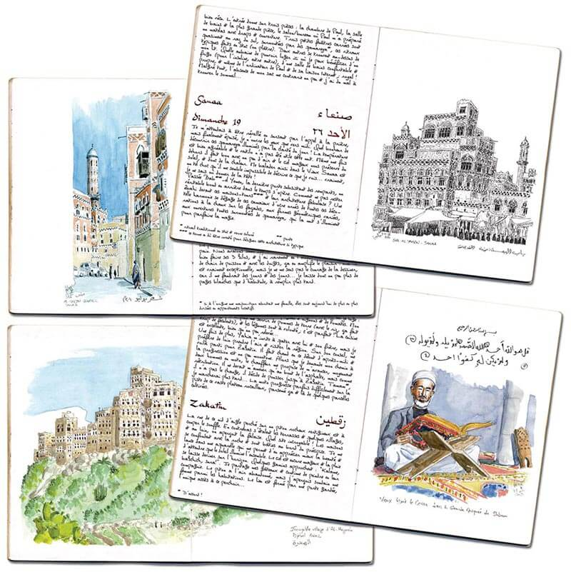 Carnet de route Yémen 4 pages