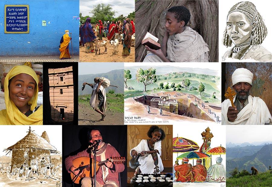 Mosaique diaporamoud Ethiopie