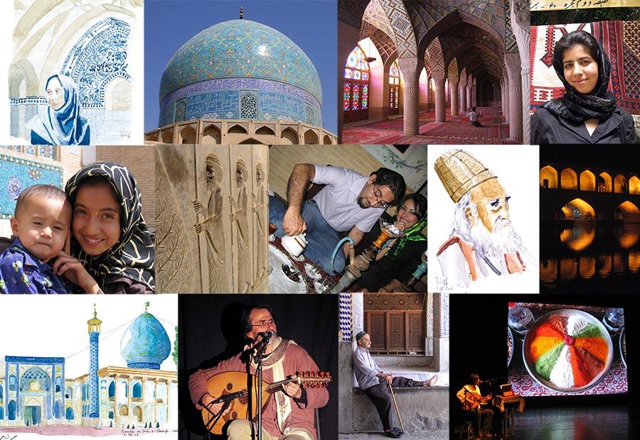 Mosaique diaporamoud Iran